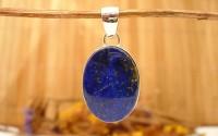 Pendentif argent et Lapis lazuli.