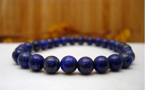 Bracelet en Lapis lazuli.