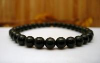 Bracelet en Obsidienne oeil céleste .