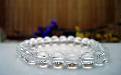 Bracelet en Cristal de roche.
