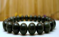 Bracelet en Obsidienne oeil céleste.