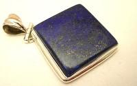 Pendentif en argent et Lapis lazuli.